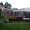 Poner dos enchufes de pared  en un patio de la casa