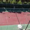 Derribar una pista de tenis