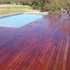 Tarima piscina de madera