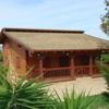 Colocar casa de madera o prefabricada de tres dormitorios