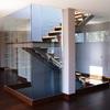 Paret separación habitación y cubrir escalera