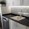 Colocar modulos inferiores cocina, fregadero y griferia