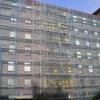 Reforma fachada edificio 2 plantas