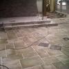Construcción de casa prefabricada de acero con cimentación realizada