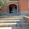 Limpieza escalera de piedra