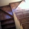 Pasamanos de escalera en vivienda unifamiliar