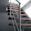 Estructura de madera para sustituir una cubierta de un ático