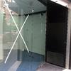 Limpieza de cristales en escaparate y puerta
