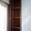 Poner puertas en hueco de trastero a modo de armario empotrado