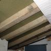 Estructura de madera para cubrir terraza