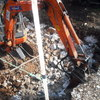 Excavación hueco piscina
