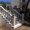 Formación de escalera en losa ya construida