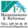 F A Matenimientos Y Reformas