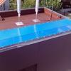 Toldo para cubrir piscina