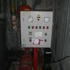 Instalar bocas contra incendios y bomba de agua