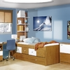 Muebles habitacion color cerezo