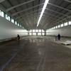 Poner hormigón pulido en nave de 100 m2