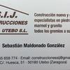 Construcciones S.i.j Utebo S.l