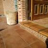 Colocación pavimento terraza