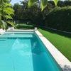 Instalación cesped artificial y diseño terraza