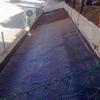 Retejar pergola con tela asfaltica o pvc