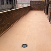 Pulir cemento suelo terraza restaurante