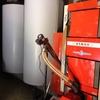 Caldera mixta, leña y pellet 150 m2