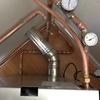 Instalacion caldera de pellets y radiadores