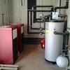 Compra e instalación de caldera de pellet
