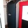 Calefacion con radiadores de pellets