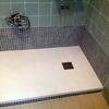 Desmontaje cabina e instalacion plato d ducha 120x70 blanco, giferia monomando y mampara blanca con guias de facil limpieza