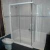 Instalación de ducha con mampara