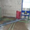 Instalador para suministro de agua