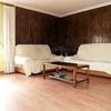 Habitacion,revestir pared madera