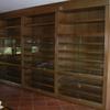 Puertas de madera color roble para armario empotrado de 3m por 2'40 los rieles son metalicos, trabajo en palma de mallorca