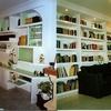 Libreria de obra en salon