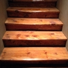 Lijar y barnizar una escalera de 30 escalones