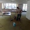 Secar y limpiar moqueta