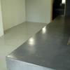 Lavabo rectangular cemento pulido