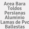 Acea Bara Toldos Persianas Aluminio Lamas De Pvc Ballestas