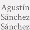 Agustín Sánchez Sánchez