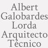 Albert Galobardes Lorda . Arquitecto Técnico.
