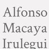 Alfonso Macaya Irulegui