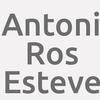 Antoni Ros Esteve