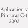 Aplicacion y Pinturas C-t 2002