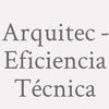 Arquitec - Eficiencia Técnica