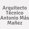 Arquitecto Técnico Antonio Más Mañez