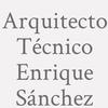 Arquitecto Técnico Enrique Sánchez