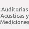 Auditorias Acusticas y Mediciones