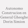 Autonomo Construcion En General Gheoghe Dorin Simion